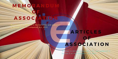 Memorandum and Article of Association, <i>Source: PEXELS</i><br>