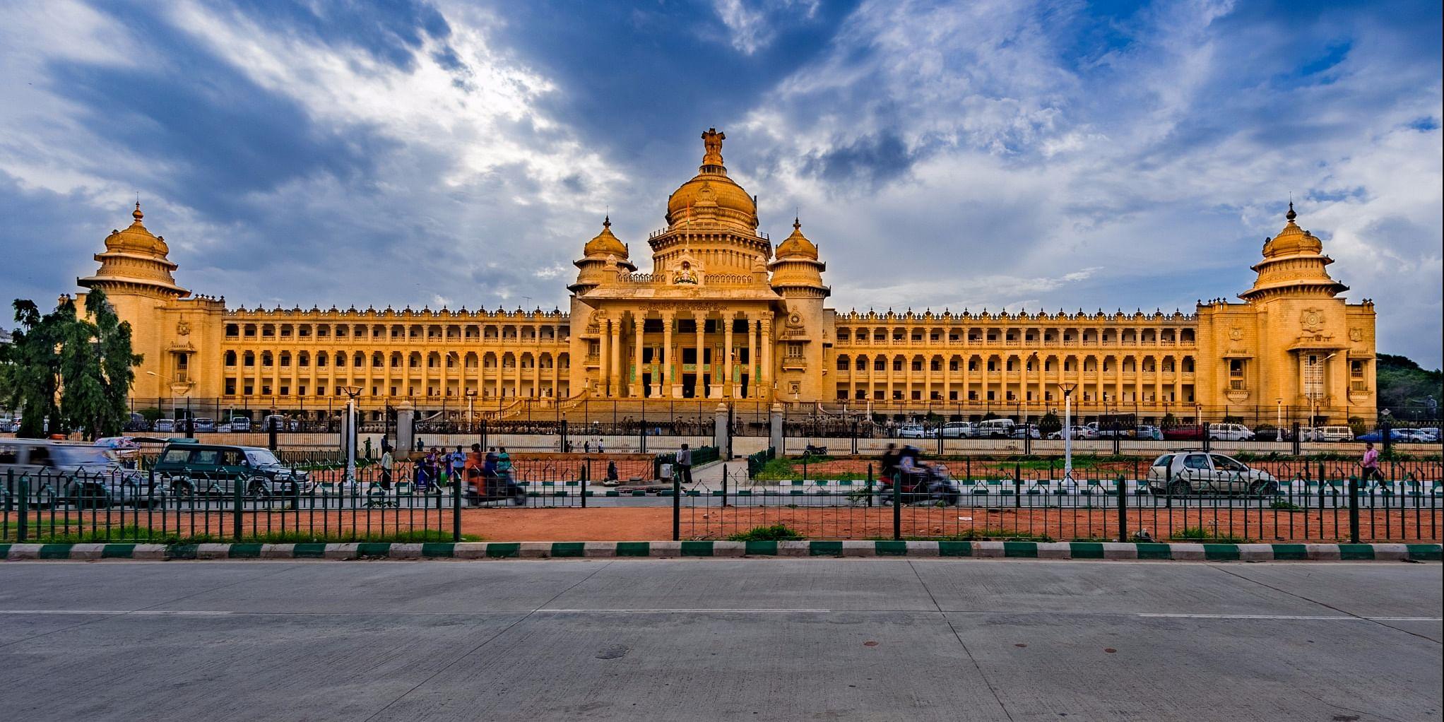 Vidhana Soudha in Bengaluru by &nbsp;<a href=