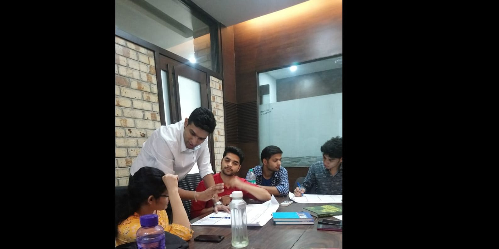 A mentorship session by NEN at S.Pace co-working (Bhopal)