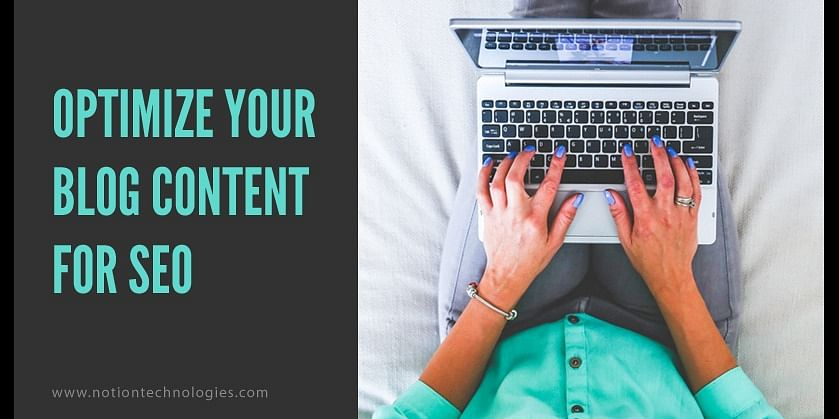 (Optimize your blog content for SEO)