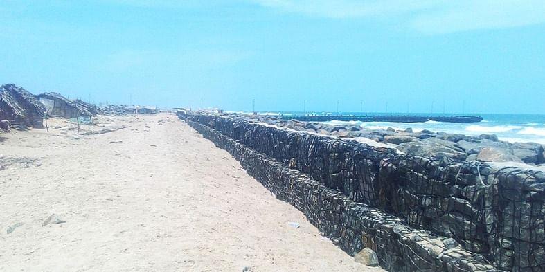 Figure 4 Dhanushkodi beach