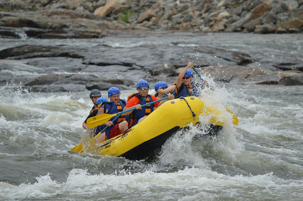White River Rafting at Seti River, Nepal