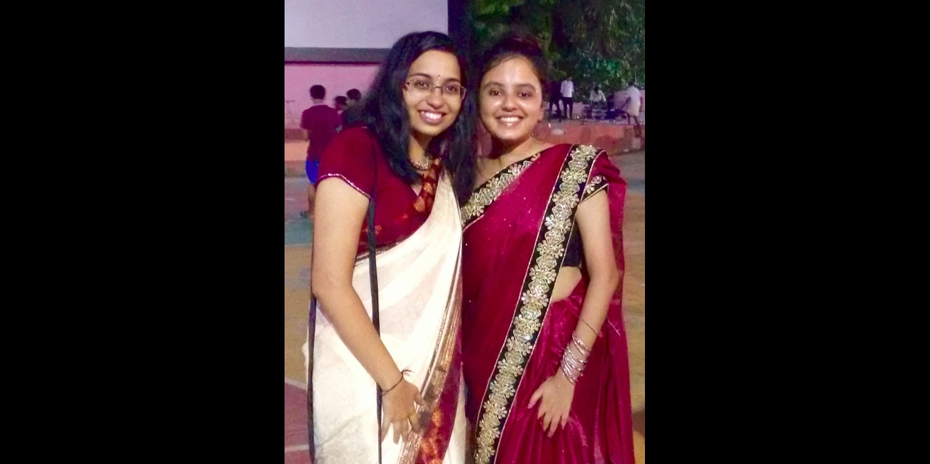 Aditi and Pranali