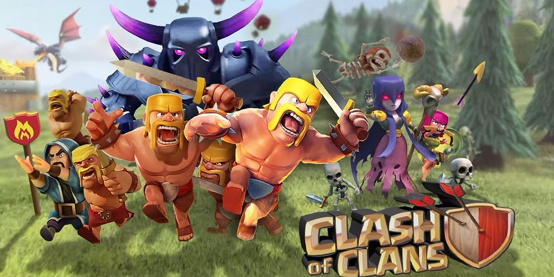The different types of troops in Clash of Clans