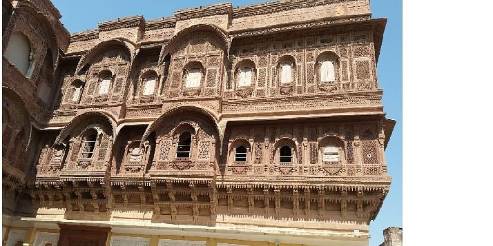inside of Mehran Garh