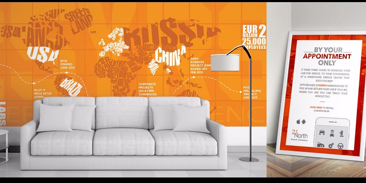 Wall Illustrations and Branding