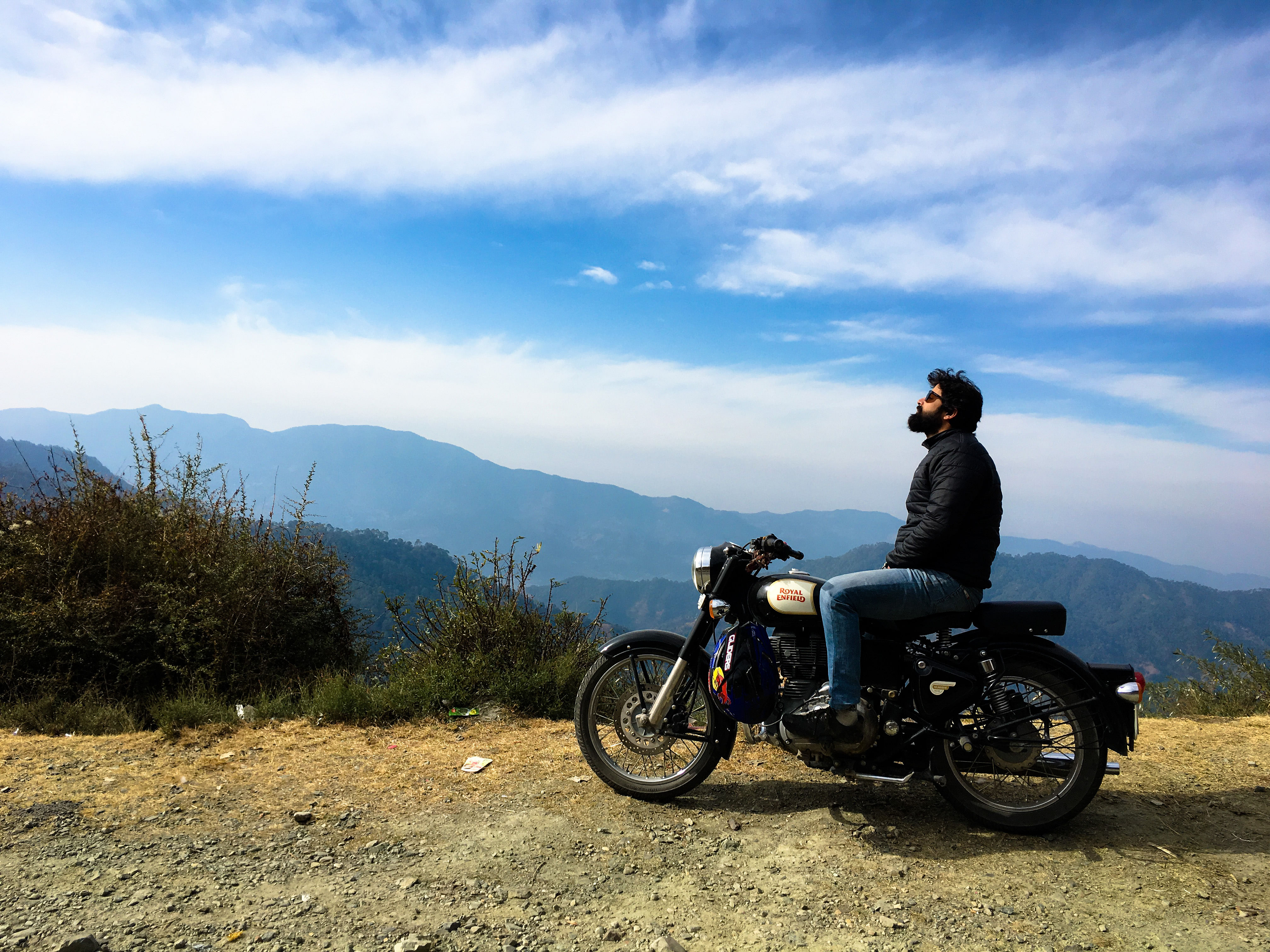 Journey to barot on bike<br>