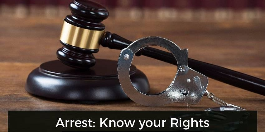 You need to Know your Rights:- If police come to your door for Arrest