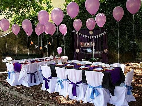 How To Celebrate Outdoor Party For Your Partners 50th Birthday