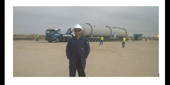 Oil and Gas  Equipment installation at Iraq