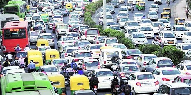 Delhi Traffic Pollution