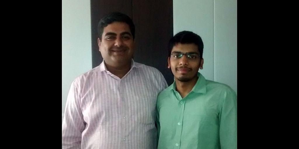 Mr. Amit Punaini And Mr. Ishu Bansal, founders of TruckSuvidha