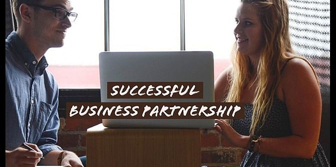 Successful Business Partnership