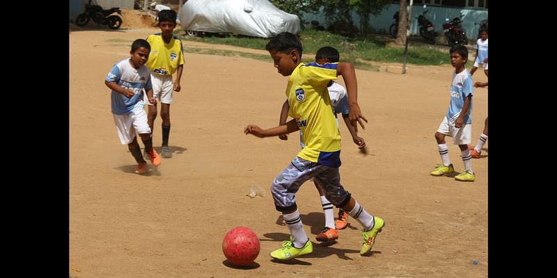 Junaid, our awesome midfielder
