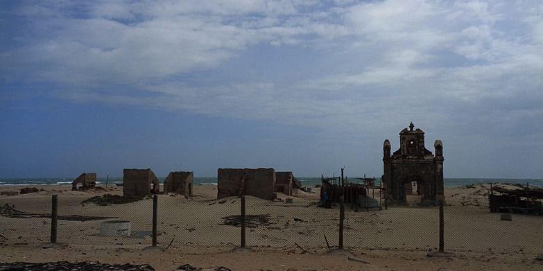 Figure 3 The ghost town, Dhanushkodi