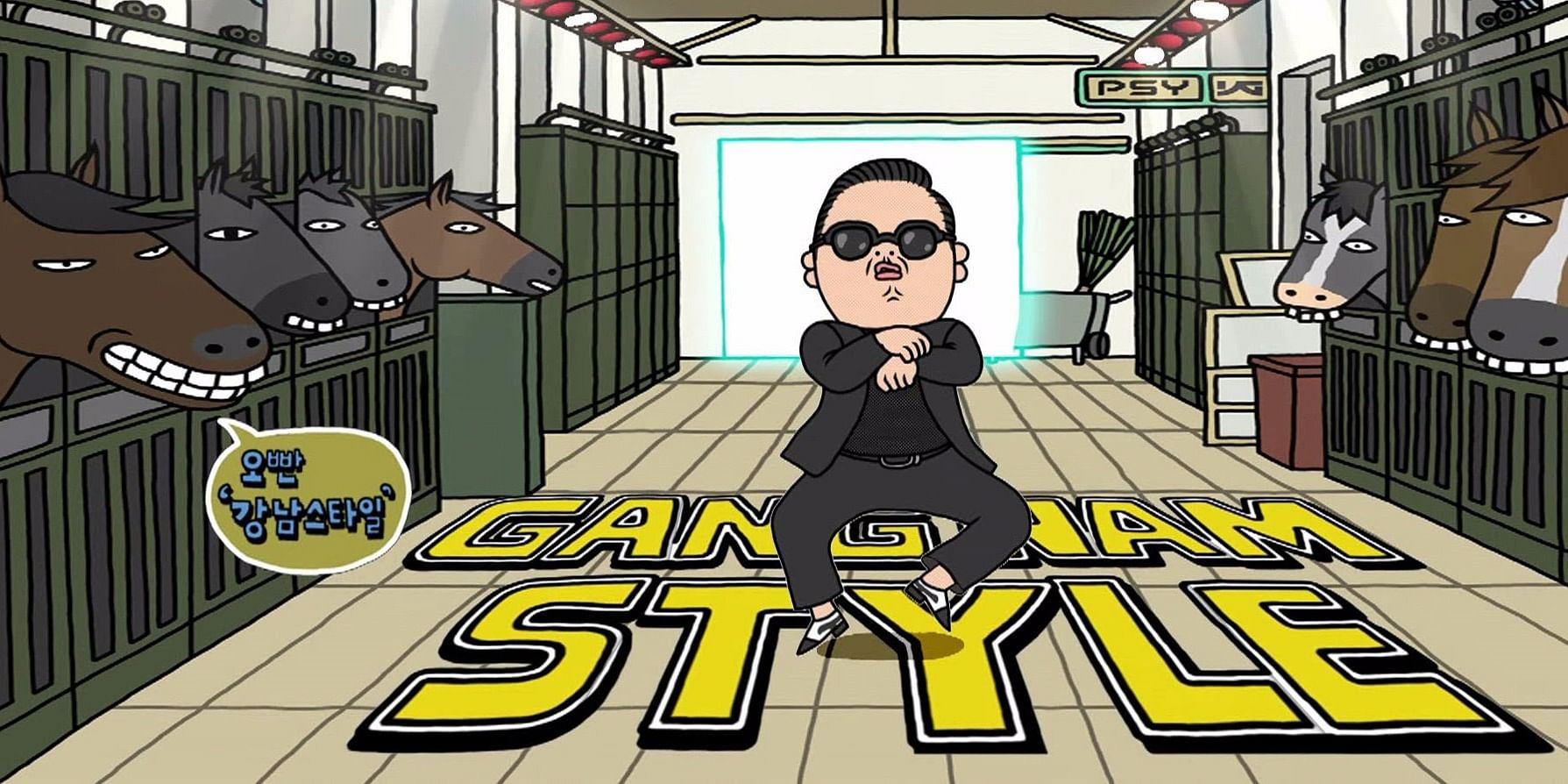 Photo Credits: PSY Gangnam Style