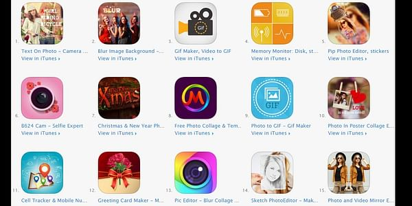 Make your own creative story using the stunning apps