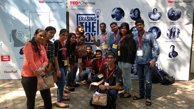 TEDxGLIMChennai Team at TEDxChennai