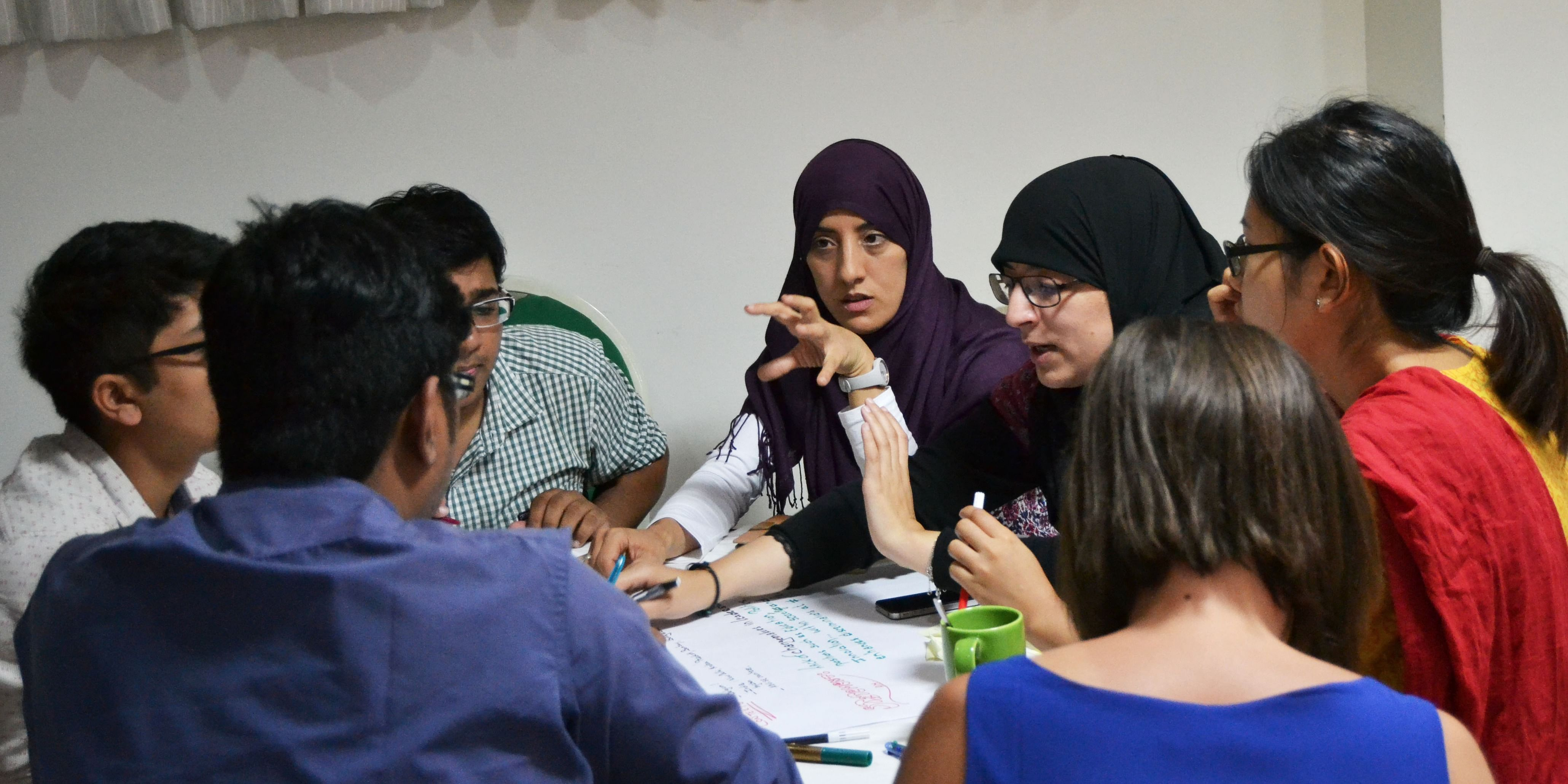 Changemakers working on developing impact projects