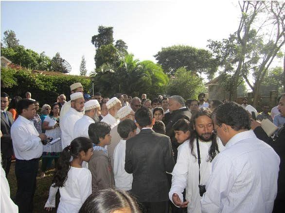 At India House Nairobi