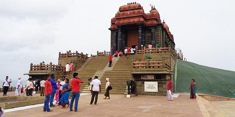 Figure 2 Vivekananda Rock, Kanyakumari