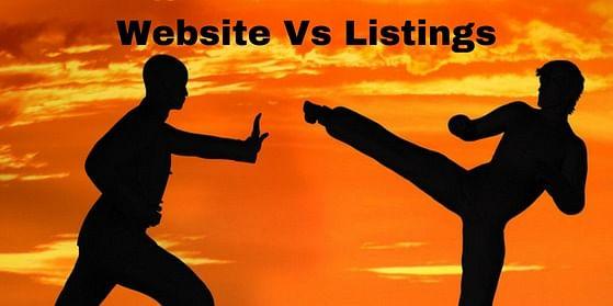 Business Website Vs Listings