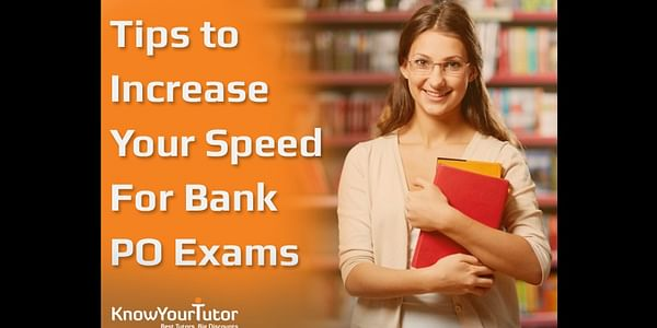 If you are preparing for the competitive exams and taking the Bank PO Coaching in Chandigarh for this purpose, then make sure that your tutors are helping you to increase your calculation speed. The Bank PO Exam is designed in such a manner that a candidate gets just a minute for solving it. Along with this you need to score the minimum marks in each section.