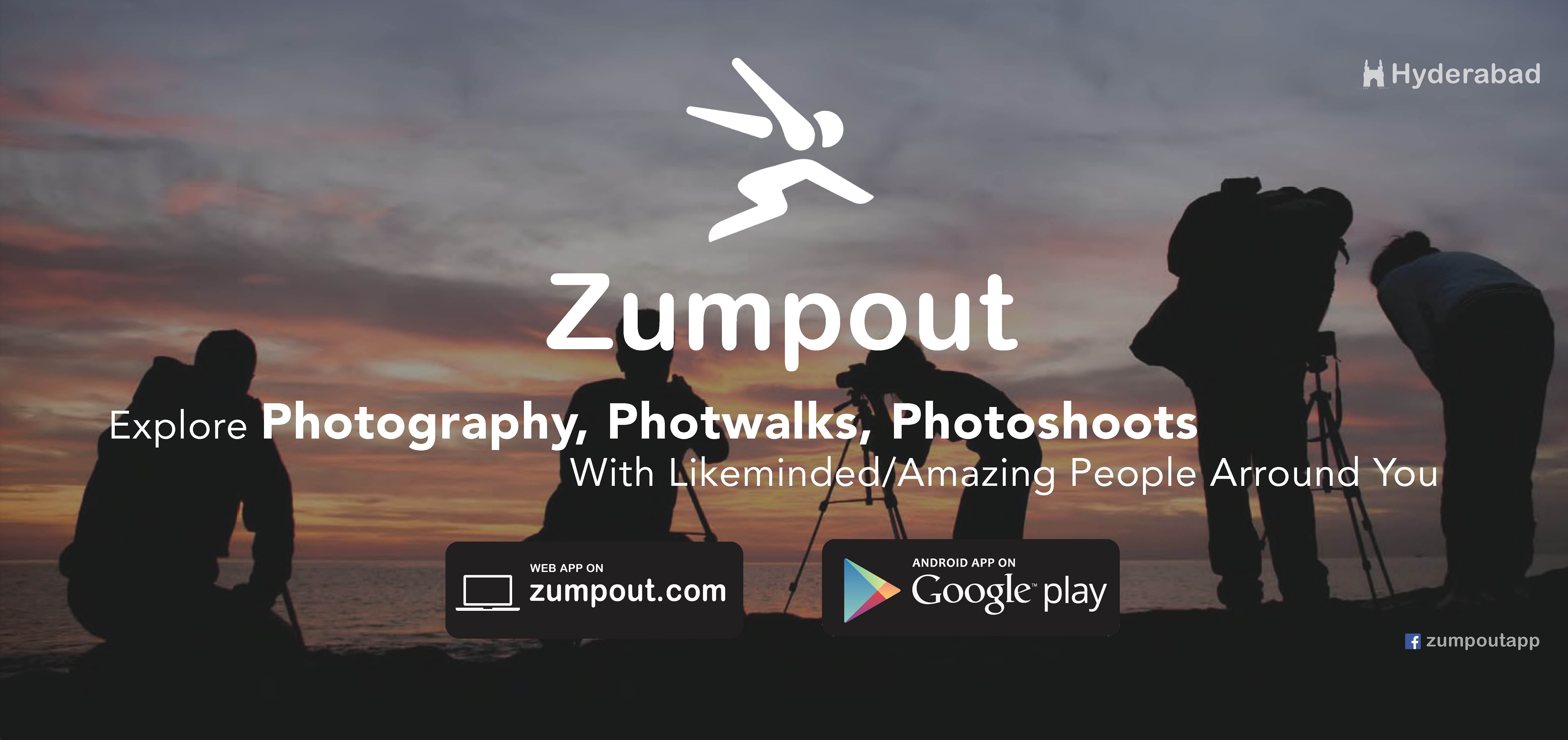 Zumpout- Connecting people from local areas to explore what they love to do