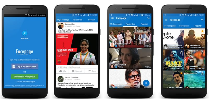 Facepage for Facebook Page lovers - download it from www.facepage.mobi