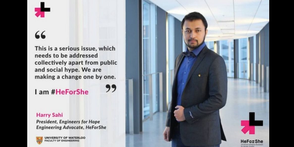 During the HeForShe guest lecture event at University of Waterloo in 2016