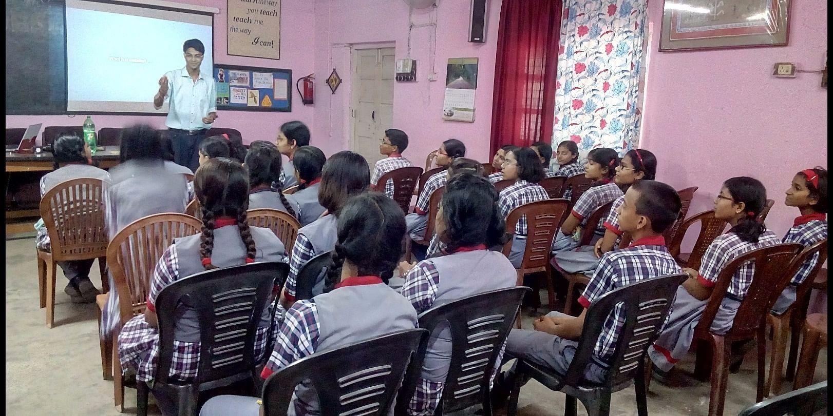 Campaign at Kendriya Vidyalaya, Barrackpore(AFS), Kolkata