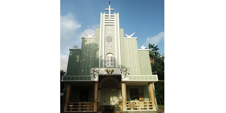 Figure 3 The Holy Cross Church at Chendamangalam