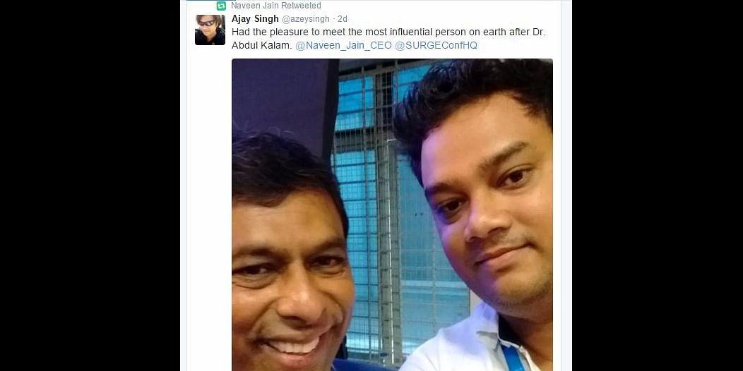 Naveen Jain & Ajay Singh