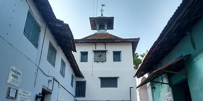 The Jewish Synagogue in Mattancherry