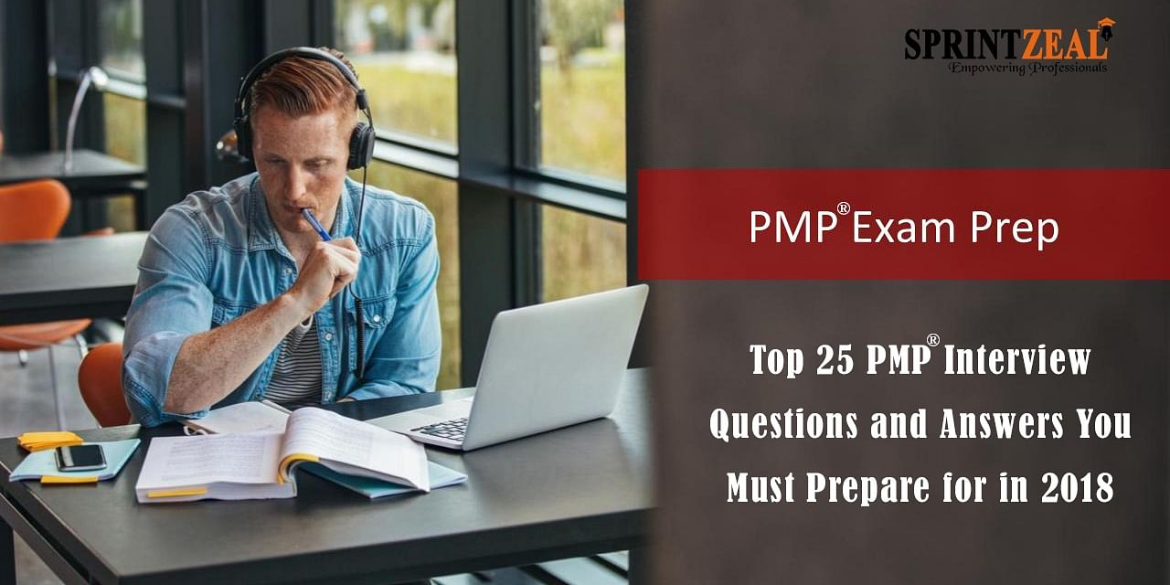 Top 25 Pmp Interview Questions And Answers You Must Prepare
