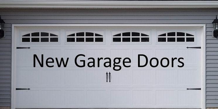 New Garage Door Buying Guide