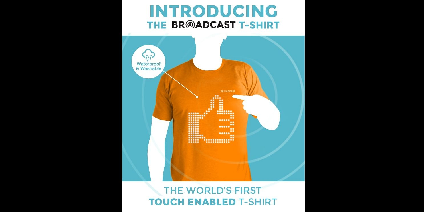 <b>World's First Touch Enabled T-Shirt</b>