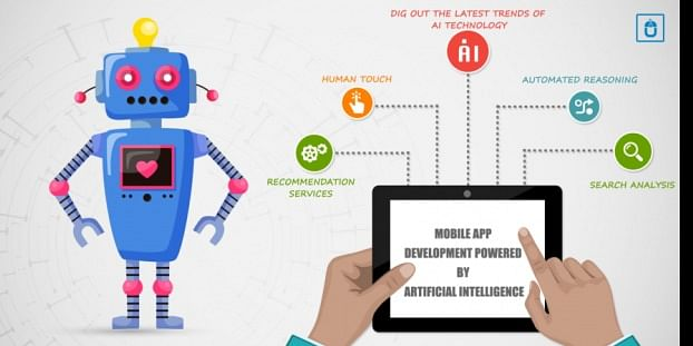 Role of AI (Artificial Intelligence) in mobile app