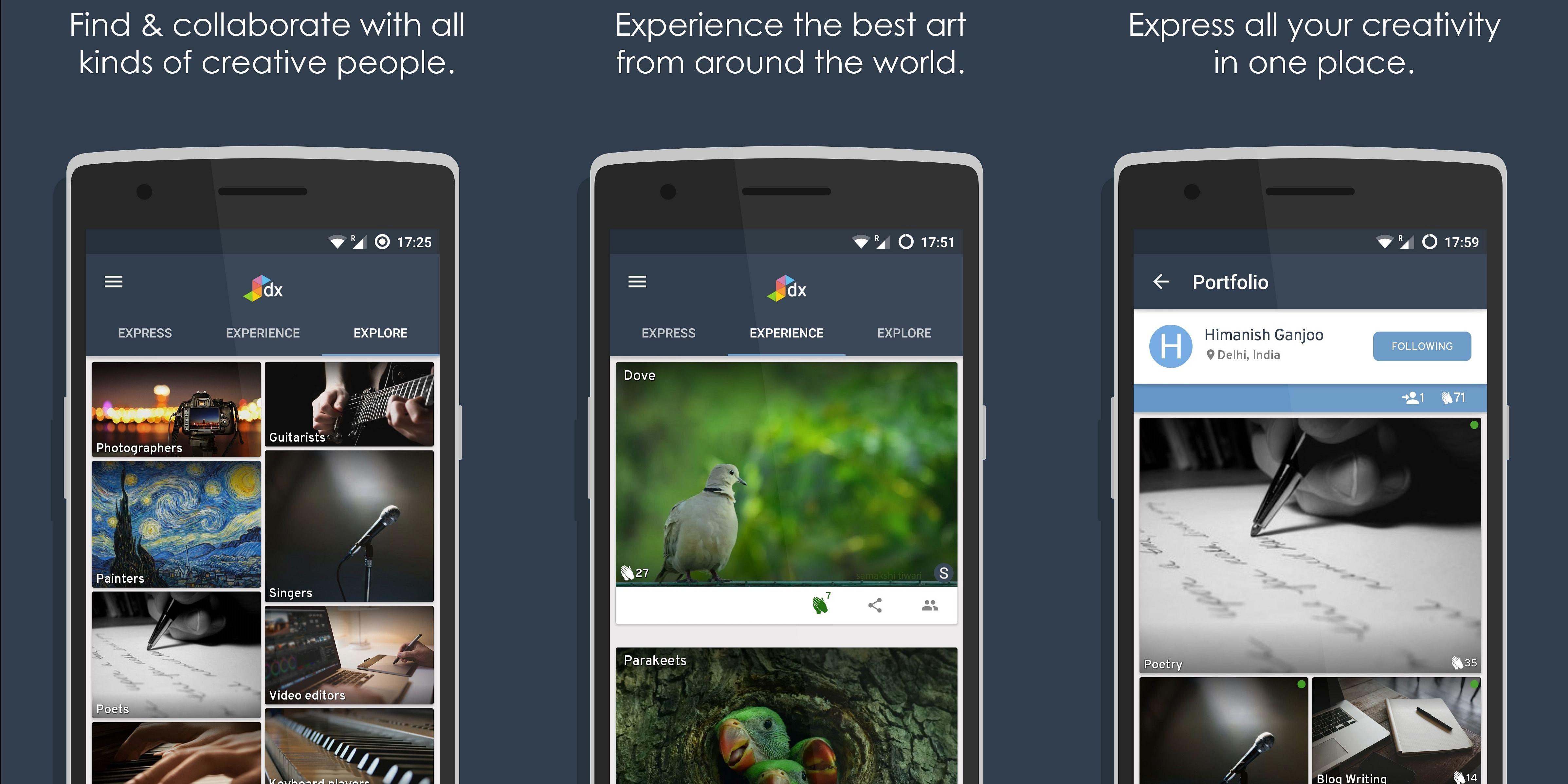 Dextra Android App: https://goo.gl/xtbAFH