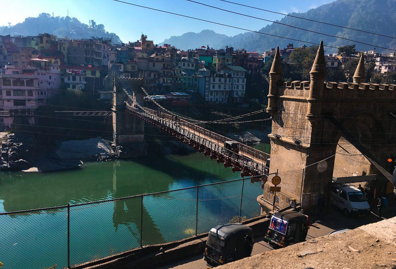The famous Mandi bridge<br>