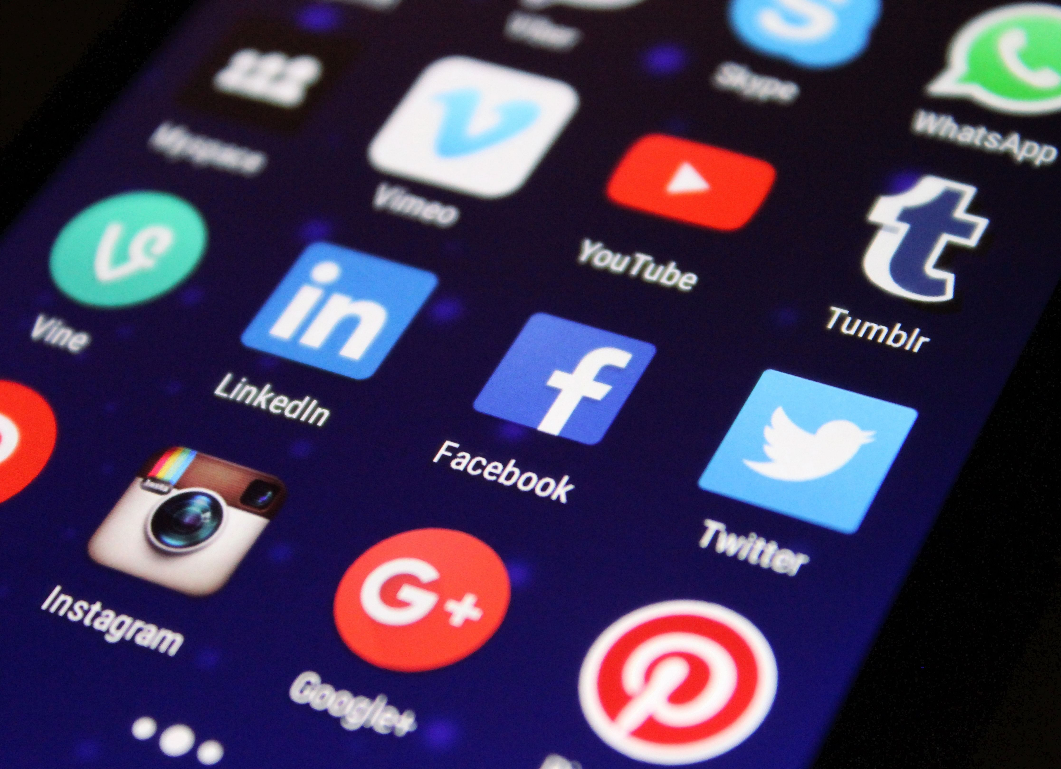 Most Used Online Communities & Social Media Platforms