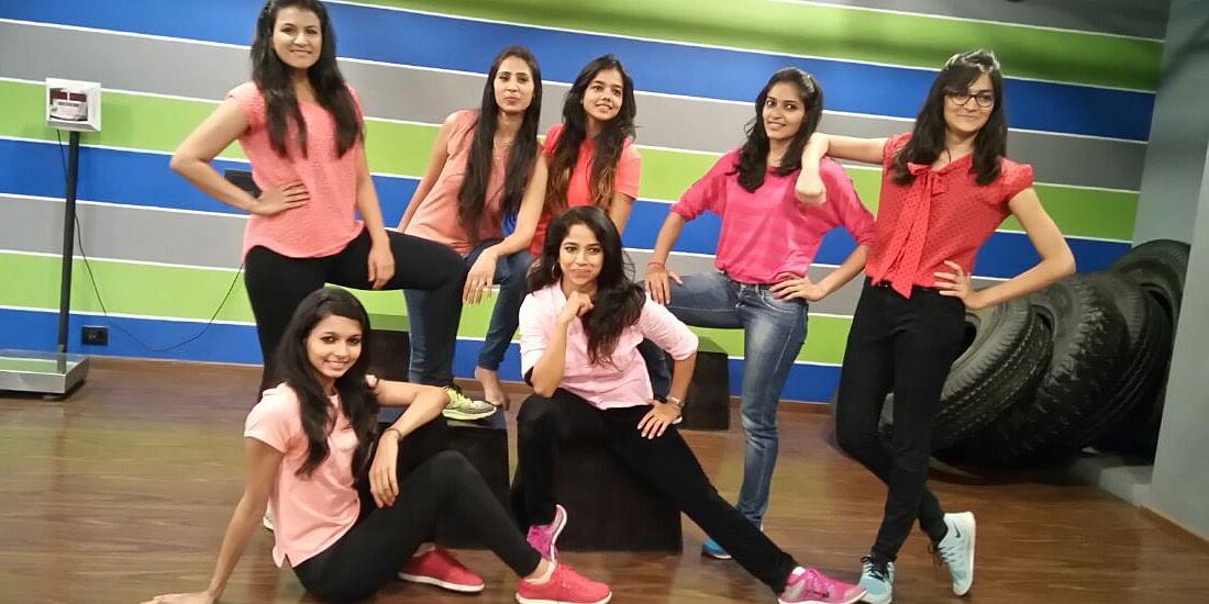 Ritu and her super energetic team