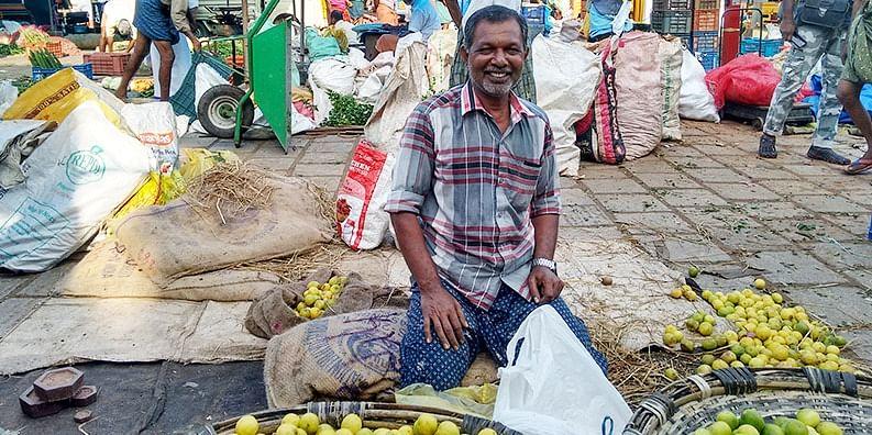 Figure 7 Morning at the Kottapuram Market