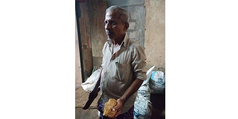 Figure 6 Jaggery Seller at the Kottapuram Market