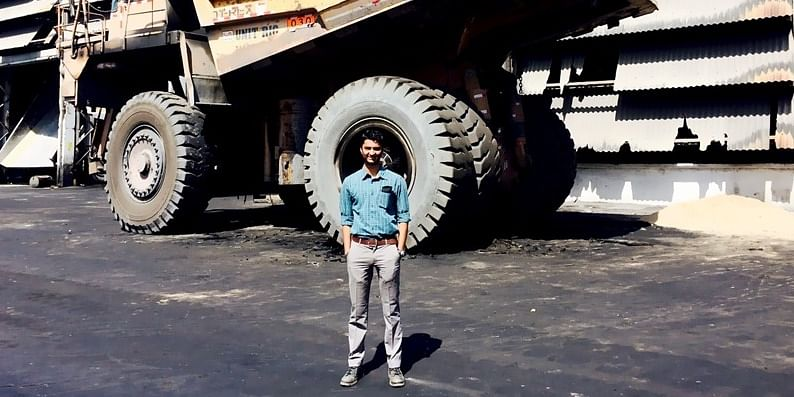 Early life as a Mechanical Engineer in Bhilai Steel Plant, Chhattisgarh.