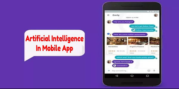 The era in which we are living demands each web component to be effective enough. Especially in the business realm, new tactics are introduced everyday to produce better results. AI is one such approach in the mobile app development to make intelligent apps that act as your personal assistant in different scenarios.