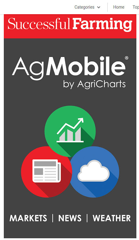 Top five agricultural mobile apps 2017
