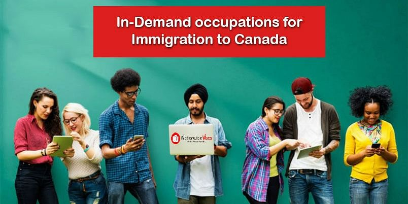 What are the in-demand occupations for immigration to Canada?
