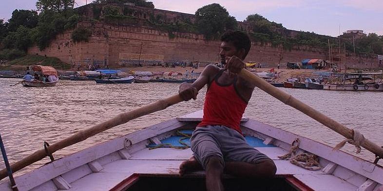 Sangam- Where Yamuna and Ganga meets