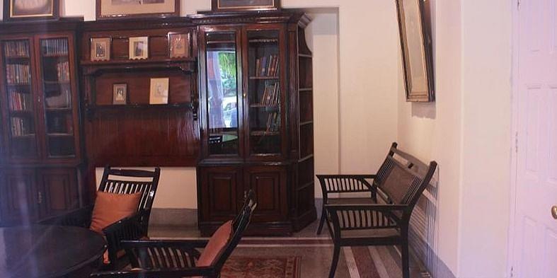 Study room of Pt. Jawaharlal Nehru